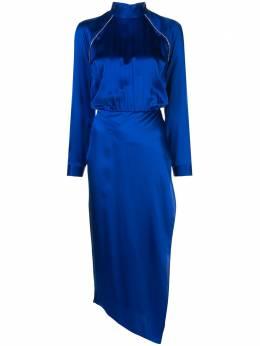 Michelle Mason декорированное платье с высоким воротником M9267
