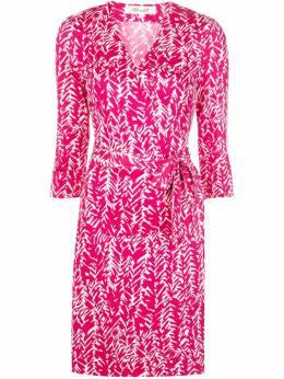 Dvf Diane Von Furstenberg платье с запахом и V-образным вырезом 14095DVF