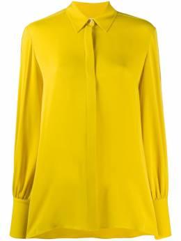 The Row расклешенная блузка с длинными рукавами 4920W1623