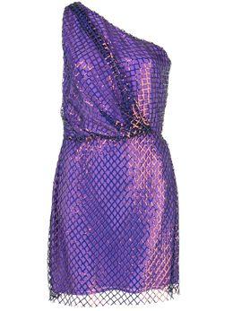 Michelle Mason платье мини на одно плечо M9266