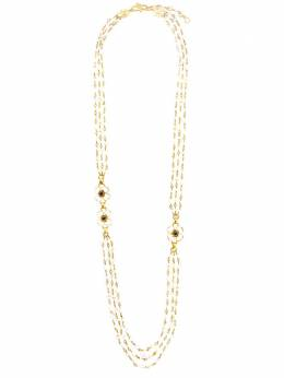 Goossens Trefle long necklace 3 rows GOH13NE028