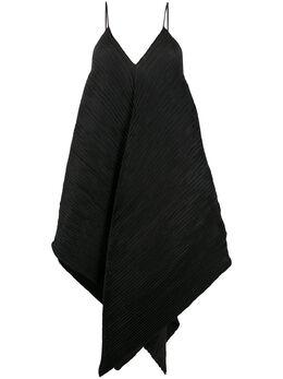 Loewe платье с асимметричным подолом S540335XAM