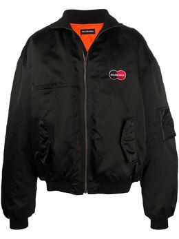 Balenciaga куртка-бомбер Uniform 622007TYD31