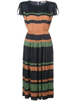Ulla Johnson платье миди Alessa в полоску PS200127