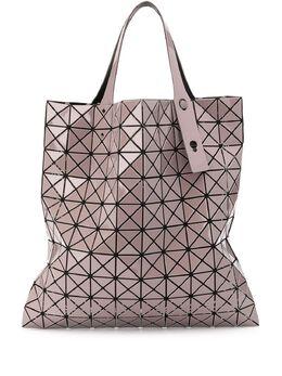 Bao Bao Issey Miyake сумка-тоут Lucent с геометричной вставкой BB06AG513