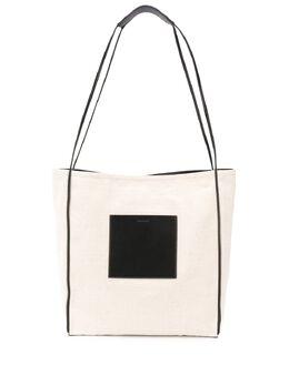 Jil Sander сумка-тоут с логотипом JSWQ852396WQB73005
