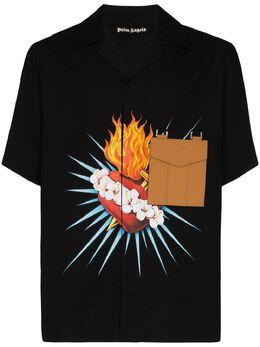 Palm Angels рубашка с принтом PMGA056S206100201088