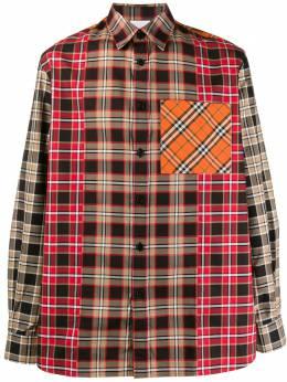 Burberry рубашка в клетку 8023916