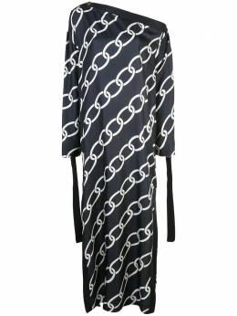 Monse платье с принтом MS19N0209BCT