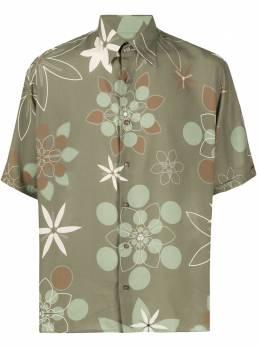 Fendi рубашка с принтом Kaleido FS0770ABLL