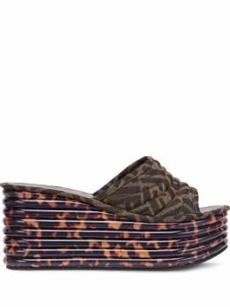 Fendi сандалии Promenade на платформе 8O7068AAWB