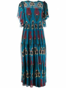 Red Valentino длинное платье TR0VAM30501