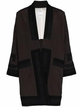 Visvim пальто-кимоно Ruunpe 012010501313