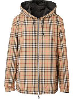 Burberry двусторонняя куртка в клетку Vintage Check 8027097