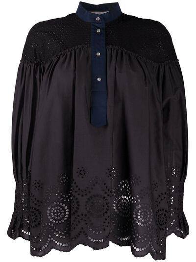 Cedric Charlier блузка с вырезами A02074027 - 1