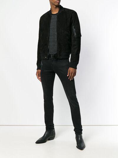 Saint Laurent suede bomber jacket 500952YC2NZ - 2