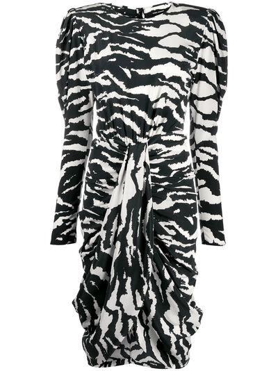 Isabel Marant платье Frera с зебровым принтом RO159520P020I - 1