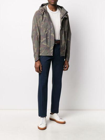 Herno куртка с капюшоном и камуфляжным принтом GI054UL12213P - 2