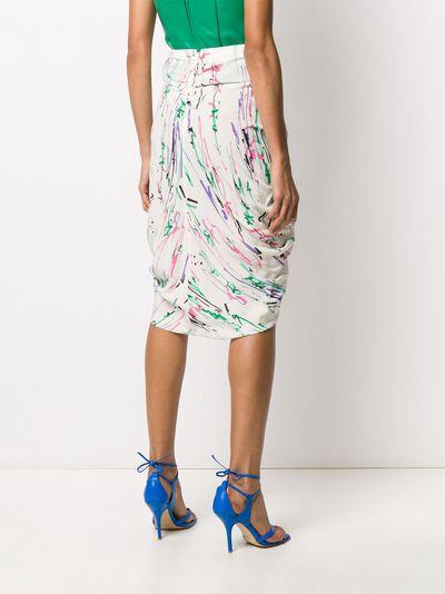 Isabel Marant юбка миди со сборками JU112020P020I - 4