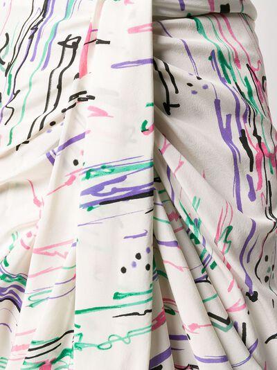 Isabel Marant юбка миди со сборками JU112020P020I - 5