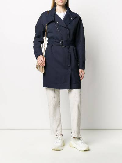 Stella McCartney платье с запахом и поясом 600154SIA03 - 2