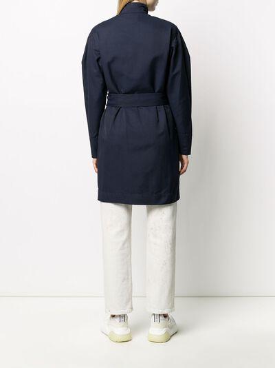 Stella McCartney платье с запахом и поясом 600154SIA03 - 4