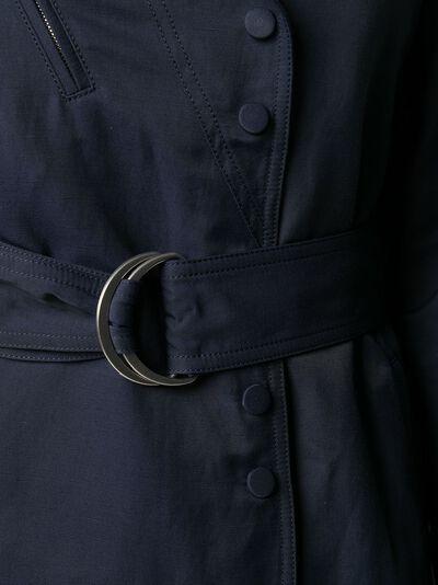 Stella McCartney платье с запахом и поясом 600154SIA03 - 5