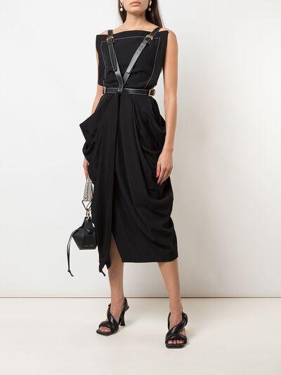 Proenza Schouler платье миди с драпировкой R2023018AY116 - 2