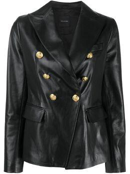 Tagliatore двубортный пиджак с заостренными лацканами LIZZIER2004