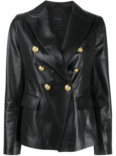 Tagliatore двубортный пиджак с заостренными лацканами LIZZIER2004 - 1