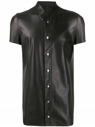 Rick Owens band collar shirt RU20S7292LLP - 1