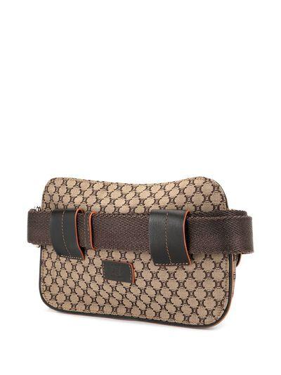 Celine Pre-Owned поясная сумка с узором Macadam ENCEL0010 - 3