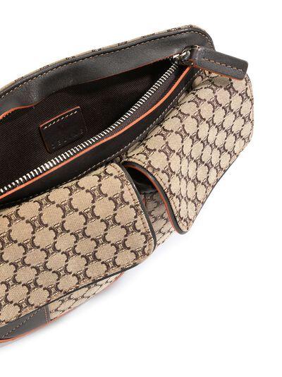 Celine Pre-Owned поясная сумка с узором Macadam ENCEL0010 - 5