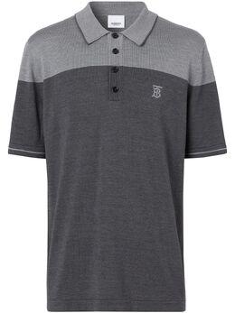 Burberry рубашка-поло с монограммой 8028951