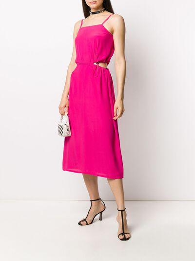 Off-White платье с вырезами OWDB234S20FAB0013245 - 2