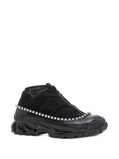 Burberry кроссовки Arthur с кристаллами 8024805 - 2