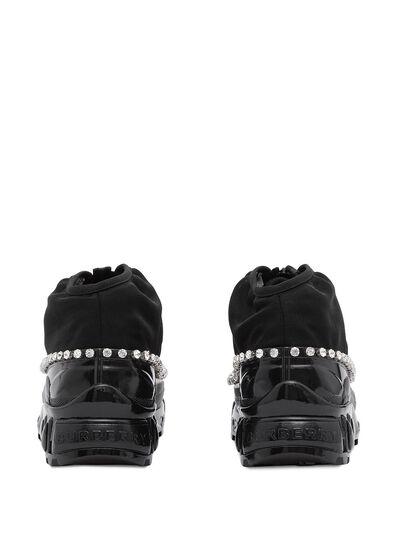 Burberry кроссовки Arthur с кристаллами 8024805 - 3