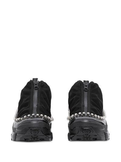 Burberry кроссовки Arthur с кристаллами 8024805 - 5