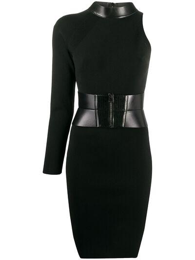 Tom Ford декорированное платье асимметричного кроя ACK214YAX201 - 1