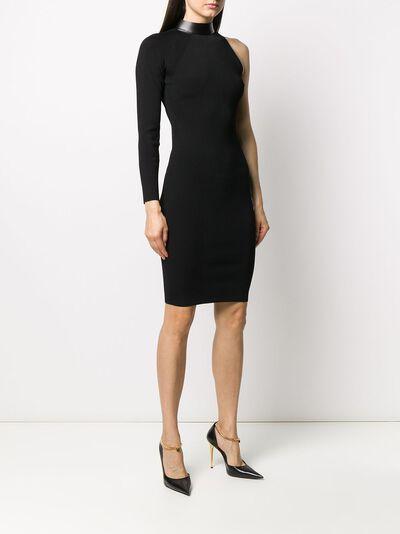 Tom Ford декорированное платье асимметричного кроя ACK214YAX201 - 3