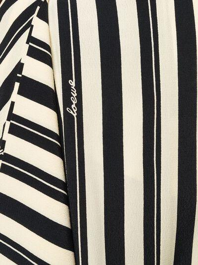Loewe юбка асимметричного кроя в полоску S2105260ROSTRIPE - 5