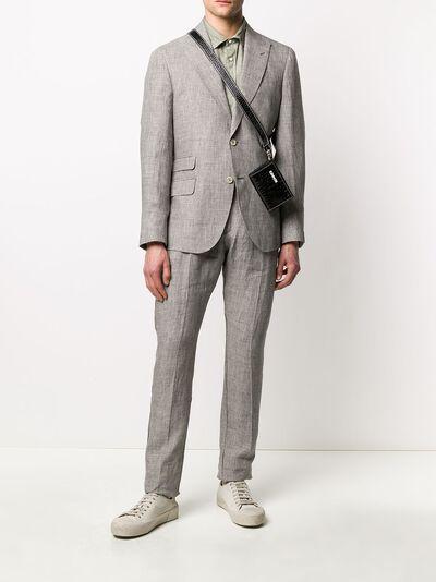 Eleventy костюм-двойка с однобортным пиджаком A75ABUA01TES0A04204 - 2