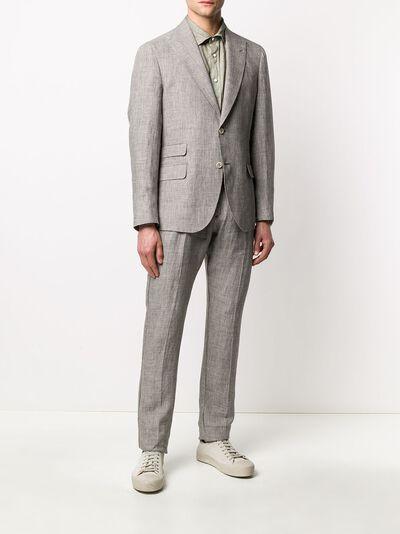 Eleventy костюм-двойка с однобортным пиджаком A75ABUA01TES0A04204 - 3