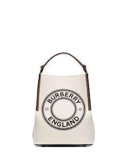 Burberry маленькая сумка-тоут Penny с логотипом 8026824