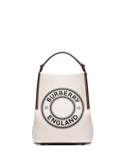 Burberry маленькая сумка-тоут Penny с логотипом 8026824 - 1