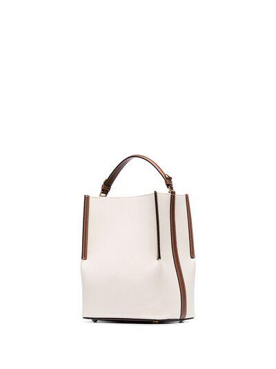 Burberry маленькая сумка-тоут Penny с логотипом 8026824 - 2