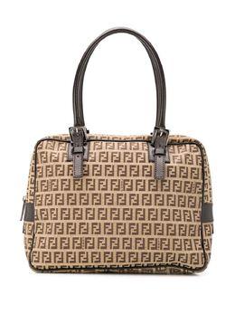 Fendi Pre-Owned сумка-тоут с логотипом FF 9CFNHB011