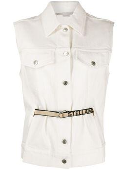 Stella McCartney джинсовая куртка без рукавов 600448SNH60