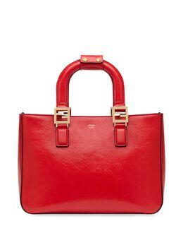 Fendi маленькая сумка-тоут Gloria с логотипом FF 8BH367A9Y0