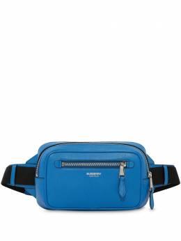 Burberry поясная сумка из зернистой кожи 8027143